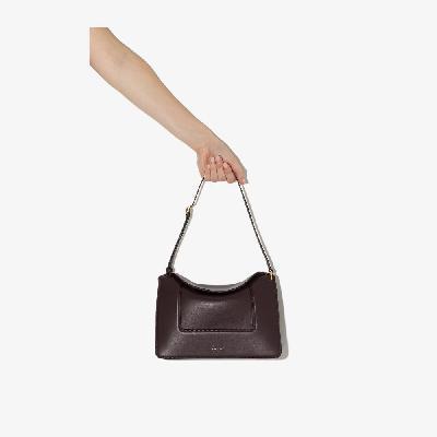 Wandler - Purple Penelope Leather Shoulder Bag