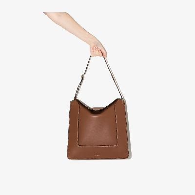 Wandler - Brown Penelope Leather Tote Bag