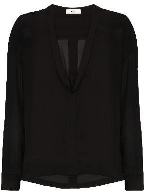 032c Cosmic Workshop silk blouse