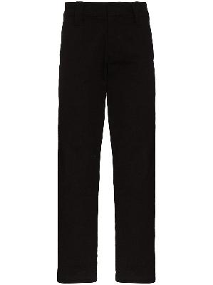 032c straight-leg mid-rise trousers