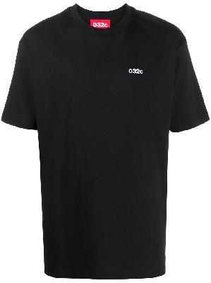 032c logo-print short-sleeve T-shirt
