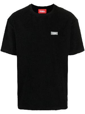 032c logo patch cotton T-shirt