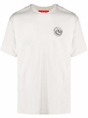 032c logo-print cotton T-shirt
