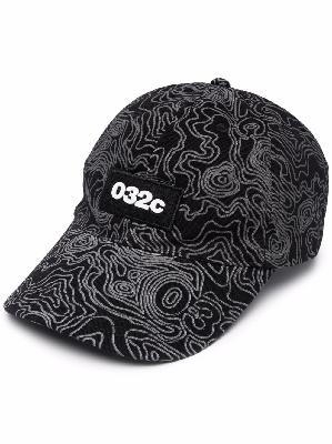 032c topos-print baseball cap