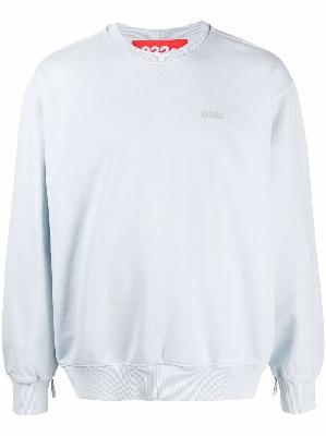 032c micro logo print sweatshirt