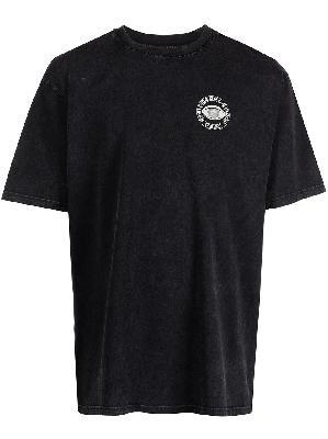 032c graphic-print cotton T-shirt