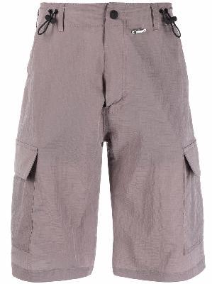 032c knee-length cargo shorts