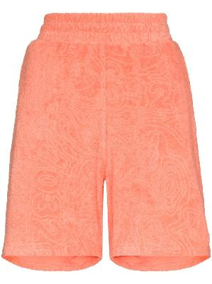 032c Topos shaved terry shorts