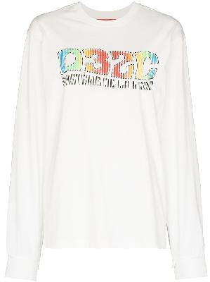 032c Système crewneck long sleeve sweatshirt