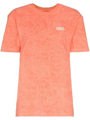 032c Topos shaved terry T-shirt