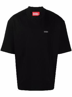 032c logo-print T-shirt