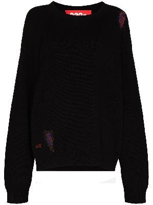 032c Hand Repaired crew-neck jumper
