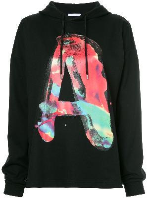 1017 ALYX 9SM A slogan long-sleeve hoodie