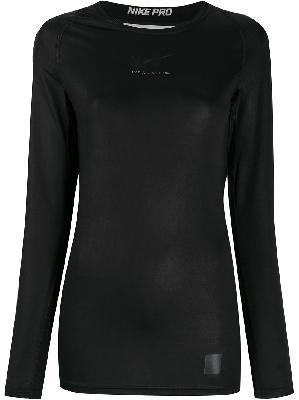 1017 ALYX 9SM x Nike raglan-sleeves logo top