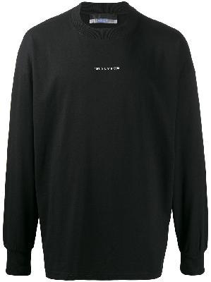 1017 ALYX 9SM logo print sweatshirt