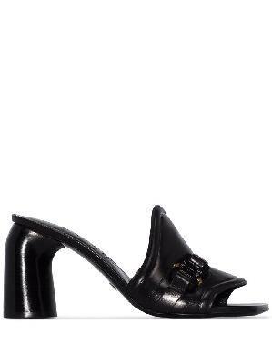 1017 ALYX 9SM buckle-detailed leather mules