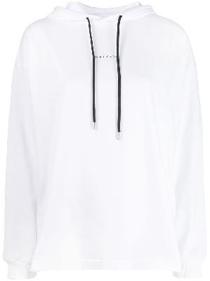 1017 ALYX 9SM logo drawstring hoodie