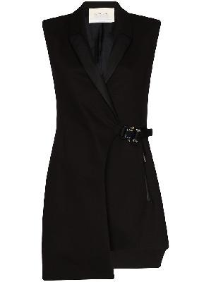 1017 ALYX 9SM tuxedo-style mini dress