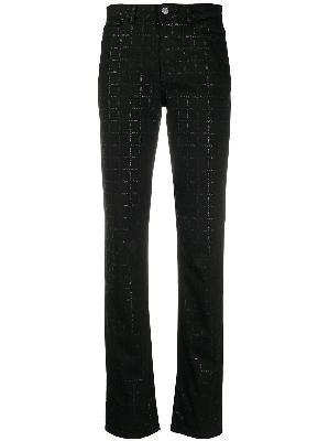 1017 ALYX 9SM logo-check slim-fit jeans