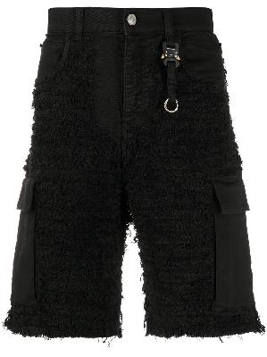 1017 ALYX 9SM mid rise denim shorts