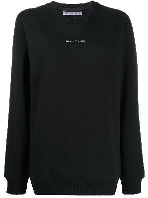 1017 ALYX 9SM graphic-print crew neck sweatshirt