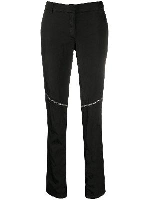 1017 ALYX 9SM front zipped skinny trousers