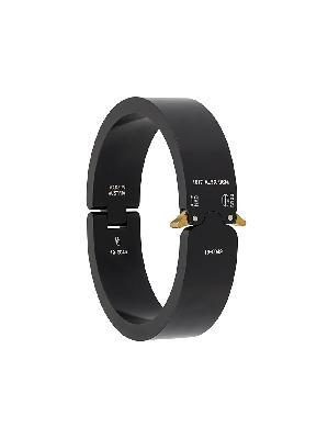 1017 ALYX 9SM matte-finish buckle bracelet