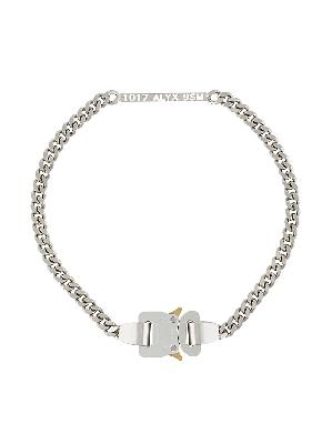 1017 ALYX 9SM buckle detail chain necklace