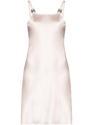 1017 ALYX 9SM Disco buckled mini dress