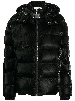 1017 ALYX 9SM high-shine padded coat