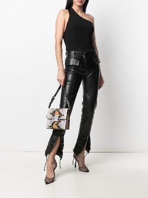 1017 ALYX 9SM snakeskin-print shoulder bag