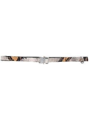 1017 ALYX 9SM snakeskin print belt