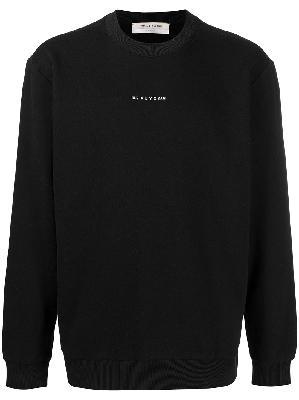 1017 ALYX 9SM logo-print cotton sweatshirt