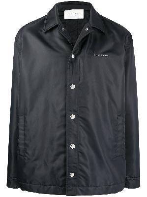 1017 ALYX 9SM raised logo shell shirt jacket