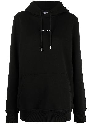 1017 ALYX 9SM embroidered logo rib-trimmed hoodie