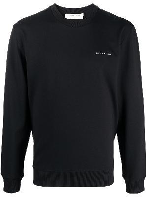 1017 ALYX 9SM logo plaque long-sleeved jumper