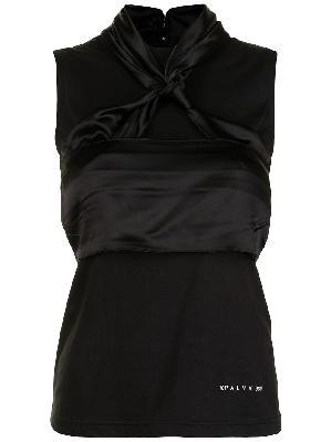1017 ALYX 9SM layered twist-front vest