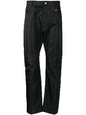 1017 ALYX 9SM straight-leg satin-shell trousers