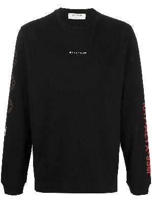1017 ALYX 9SM logo embroidered jumper