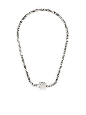 1017 ALYX 9SM curb-chain buckle necklace