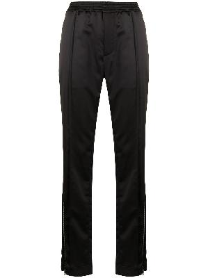 1017 ALYX 9SM satin-finish elasticated-waist trousers