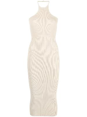 1017 ALYX 9SM knitted halter midi dress