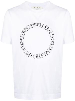1017 ALYX 9SM logo circle print T-shirt