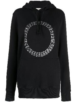 1017 ALYX 9SM curb chain print hoodie