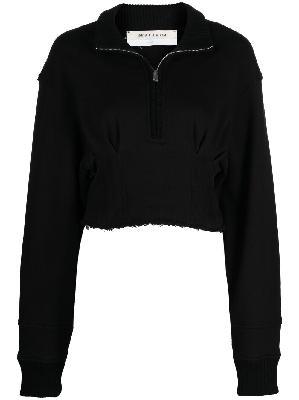 1017 ALYX 9SM cropped zip-front sweatshirt