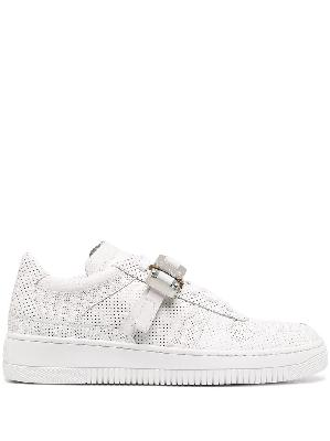 1017 ALYX 9SM perforated buckled-detail sneakers