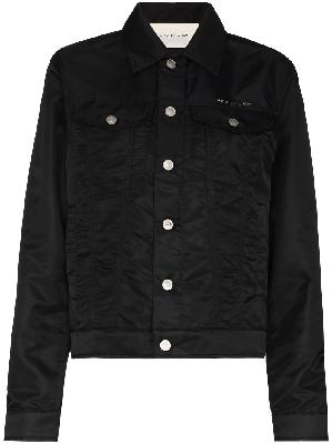 1017 ALYX 9SM logo-lettering button-up jacket