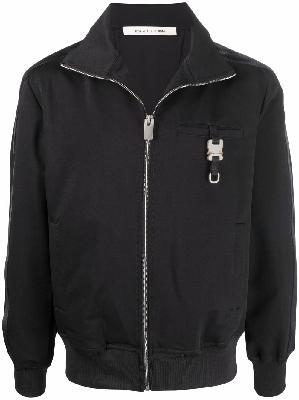 1017 ALYX 9SM buckle-detail zip-up track jacket