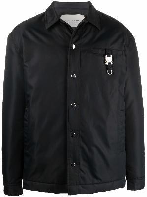 1017 ALYX 9SM buckle-detailed shirt jacket