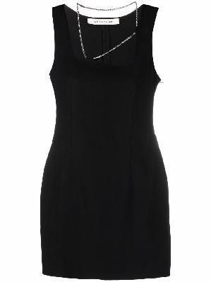 1017 ALYX 9SM chain-trimmed mini dress